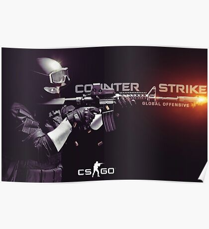 Counter Strike Global Offensive Poster