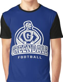 Greendale - Football Graphic T-Shirt