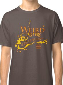 The Weird Sisters Goblet of Fire Tour '94 yellow Classic T-Shirt