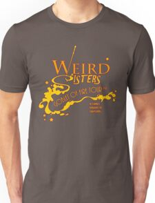 The Weird Sisters Goblet of Fire Tour '94 yellow Unisex T-Shirt