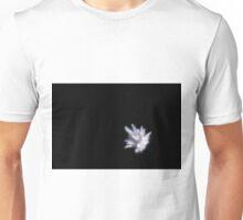 Abstract white firework burst using focus pull Unisex T-Shirt