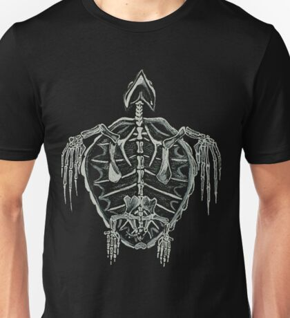 Turtle Skeleton Unisex T-Shirt