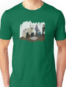 AOS Bus Team Playing Monopoly Unisex T-Shirt