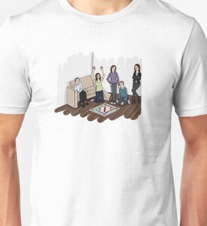AOS Bus Team Playing Monopoly Unisex T-Shirt