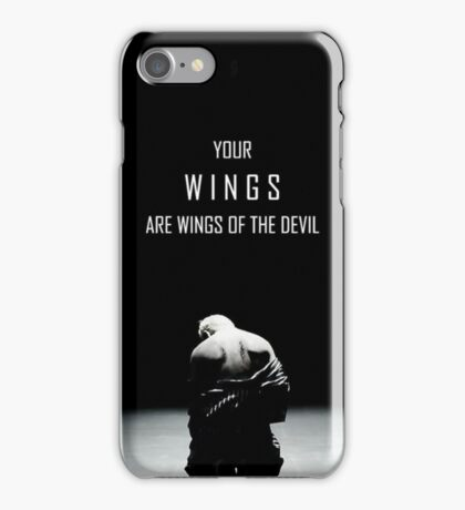 WINGS_BTS_Taehyung's Devil iPhone Case/Skin