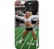 NFL fan festival in Regent Street London with a live performance by the Oakland Raiders cheerleaders, iPhone Case/Skin