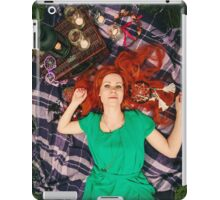 Creative Portrait of Beautiful Redhead Woman iPad Case/Skin
