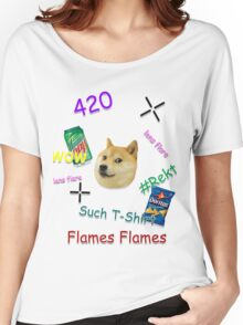 """""""Much Lens Flare"""" - A Shirt by Josh Women's Relaxed Fit T-Shirt"""