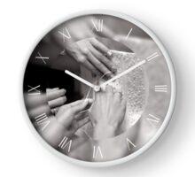 Bridal wedding dress clothe Clock