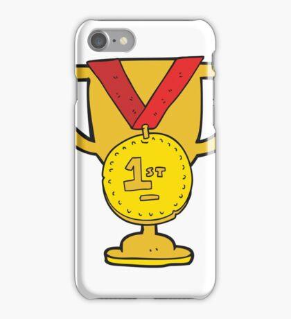 cartoon sports trophy iPhone Case/Skin