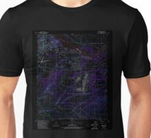 USGS TOPO Map Arkansas AR Barling 257935 1987 24000 Inverted Unisex T-Shirt