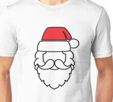 Santa Claus Red Hat Unisex T-Shirt