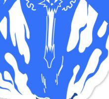 One Piece - Soul King Aura (Blue) Sticker