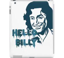 Hello Billy [blue-ish] iPad Case/Skin