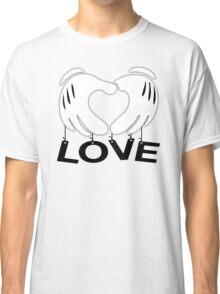 Mickey Hands - Love Classic T-Shirt