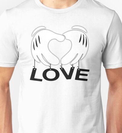 Mickey Hands - Love Unisex T-Shirt