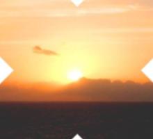 Sunset Crossing Sticker