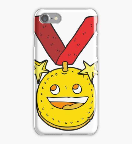 cartoon happy sports medal iPhone Case/Skin