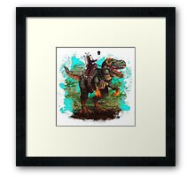 You'll never be as cool as...  Framed Print