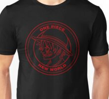 One Piece - Luffy Coin (Red) Unisex T-Shirt