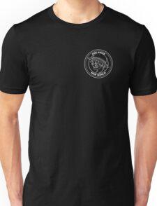 One Piece - Luffy Badge (White) Unisex T-Shirt
