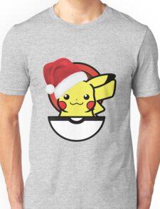 Festive Christmas Pikachu  Unisex T-Shirt
