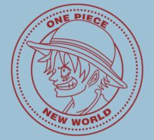 One Piece - Luffy Badge (Red) One Piece - Short Sleeve