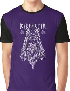 Viking Berserker Drug Graphic T-Shirt