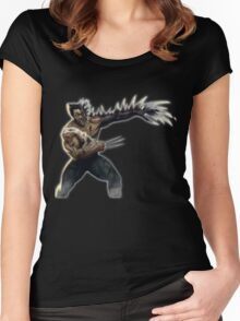 Wolverine Monster Women's Fitted Scoop T-Shirt