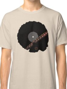 Afro Vinyl Record - African Woman Classic T-Shirt