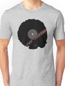 Afro Vinyl Record - African Woman Unisex T-Shirt