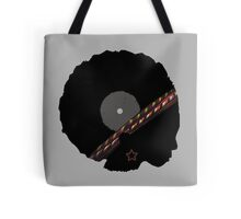 Afro Vinyl Record - African Woman Tote Bag