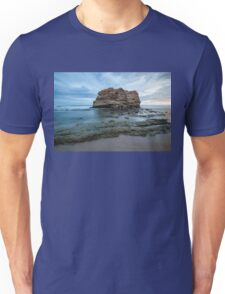 Big rock beach sunset Unisex T-Shirt