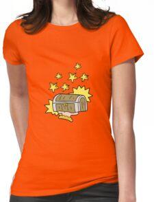 cartoon treasure chest Womens Fitted T-Shirt
