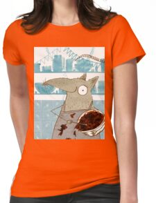 Rat in the Kitchen Womens Fitted T-Shirt