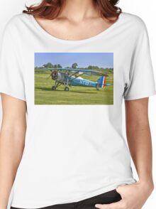 Morane-Saulnier MS.317 G-MOSA 351/HY22 Women's Relaxed Fit T-Shirt