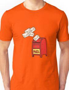 cartoon mail box Unisex T-Shirt