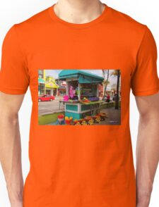 Beach Bum State of Mind--horizontal Unisex T-Shirt