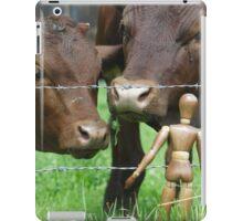Amazed Cows iPad Case/Skin