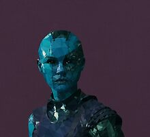 Nebula from Guardians of the Galaxy by pop-lygons