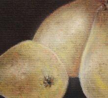 Still Life of Pears Sticker