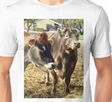 Cows That Are Udderly Adorable. Unisex T-Shirt