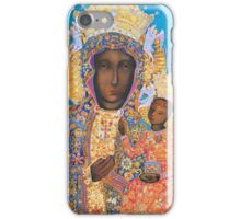 Our Lady of Czestochowa Black Madonna Poland Virgin Mary Painting iPhone Case/Skin