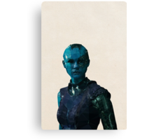 Nebula from Guardians of the Galaxy Canvas Print