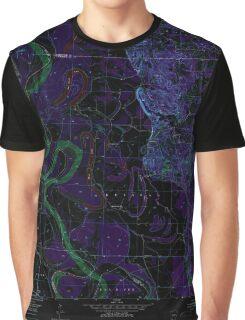 USGS TOPO Map Arkansas AR Boyd Hill 258033 1952 24000 Inverted Graphic T-Shirt