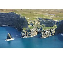 cliffs of moher ireland 2 Photographic Print