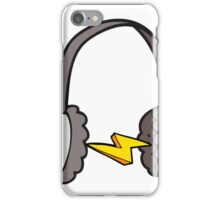 cartoon headphones iPhone Case/Skin