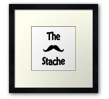 The Stache Framed Print