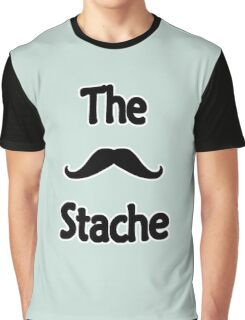 The Stache Graphic T-Shirt