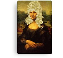 Blonde Mona Lisa  Canvas Print